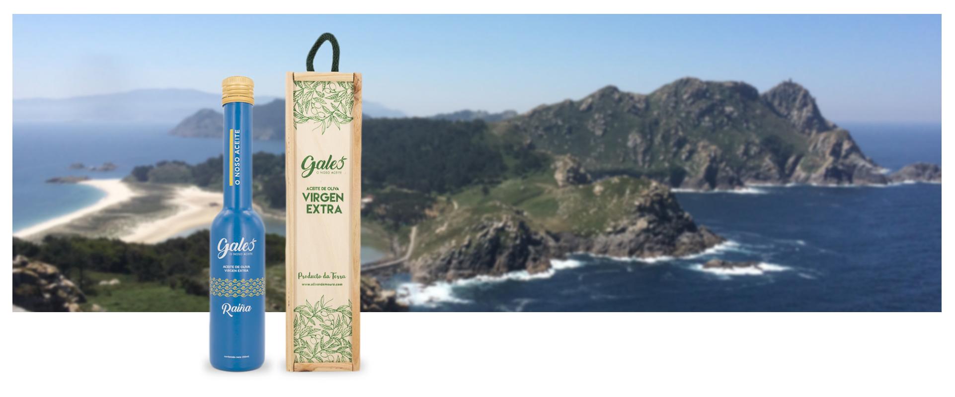 Botella Raiña Galeo Olivar de Moura Banner 2